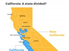 Kalifornien/Neu-Kalifornien nach der Teilung Quelle: New California