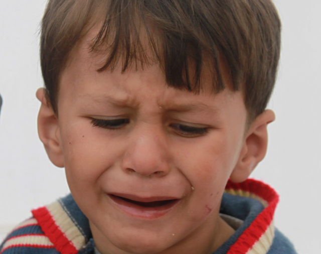 Crying Child - CC
