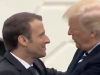 Die Präsidenten Trump und Macron beim Staatsbesuch in den USA Foto: Videoausschnitt