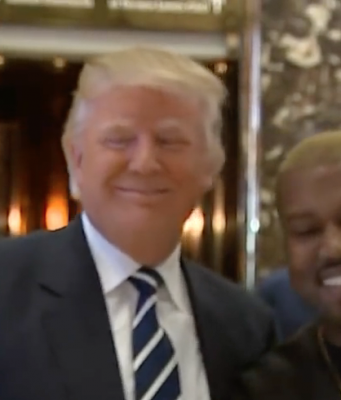 Kanye West trifft Donald Trump Dezember 2016 Foto: YouTube Video