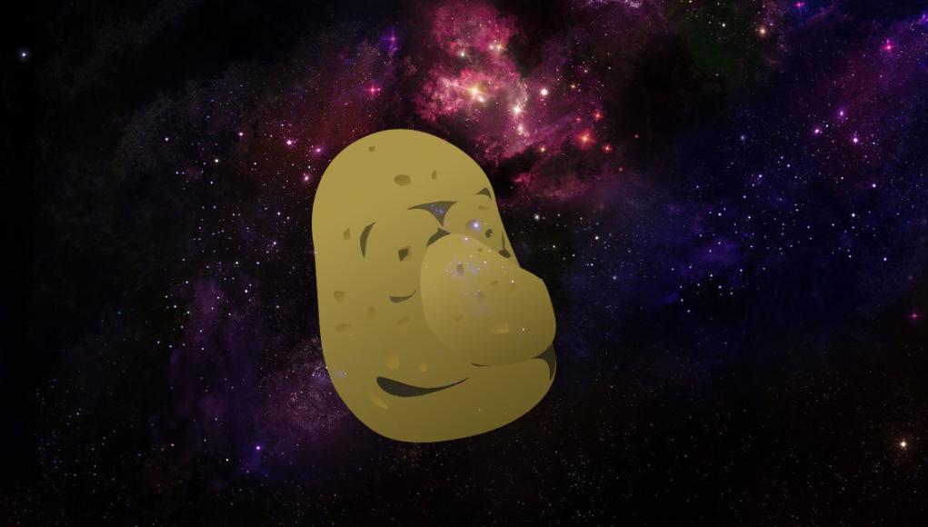 NASA: Die Erde ist eine Kartoffel Bild: Eigenes Werk in Ermangelung eines Fotos