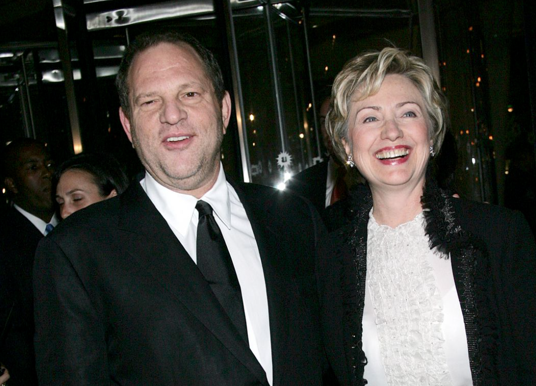 Beste Freunde - Harvey Weinstein und Hillary Clinton Foto YouTube