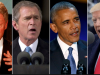 Clinton, Bush, Obama, Trump Foto YouTube Ausschnitt