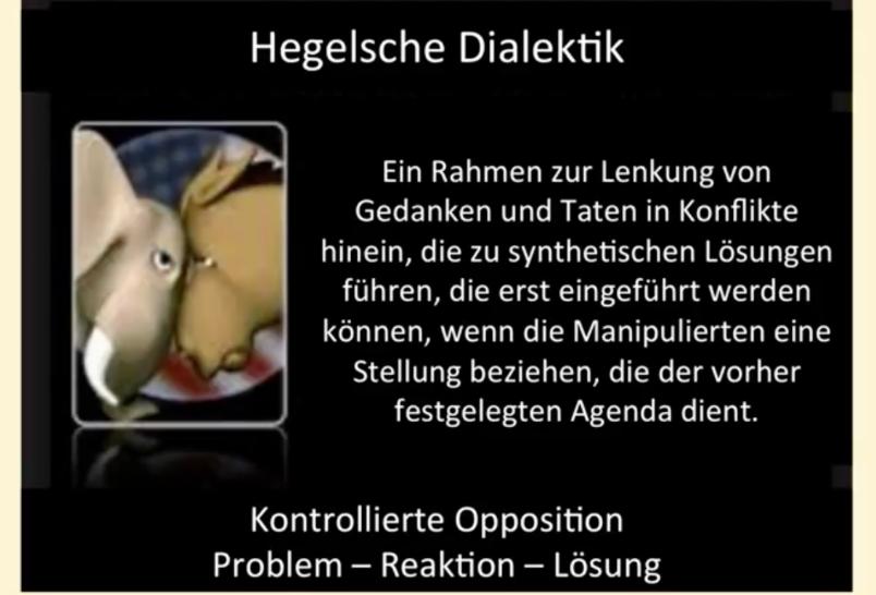 Hegelsche Dialektik - Foto YouTube