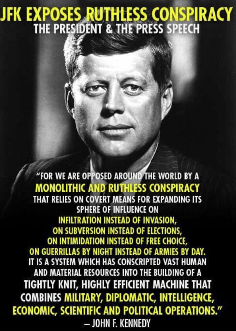 JFK - Die Rede, weshalb er sterben musste Meme