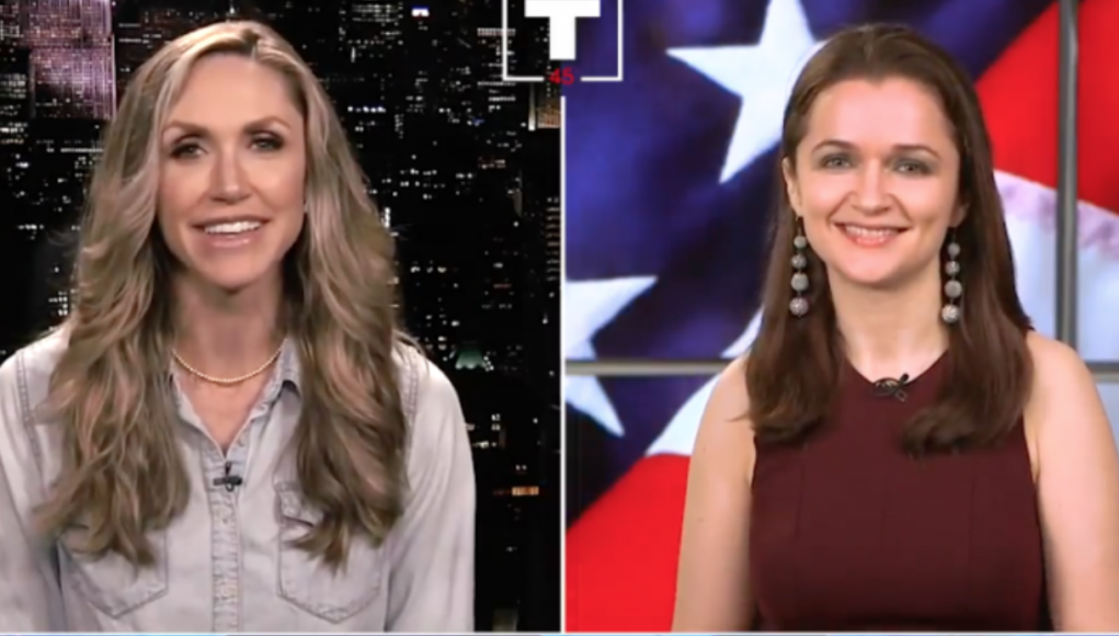 Lara Trump im Interview, 31. Mai 2018 Foto Donald Trump Real News