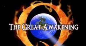 Q and Trump - The great awakening movement Meme
