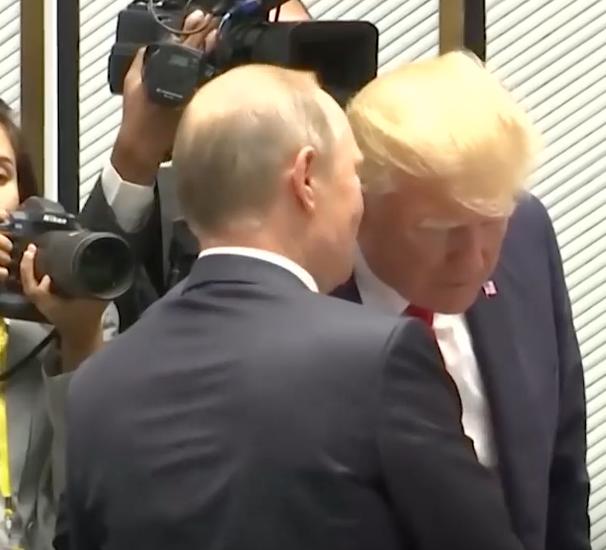 Putin und Trump beim APEC-Gripfel 2017