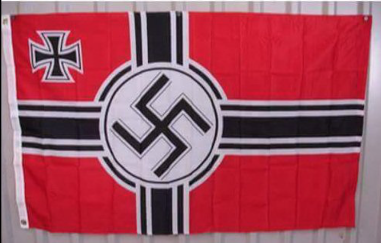 QAnon: Erinnert euch diese Flagge an eine andere? Foto qanon.pub
