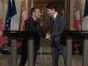 Zwei, die sich einig sind: Macron und Trudeau auf dem G7 Gipfel Foto https:::www.youtube.com:watch?v=Z-Akc-rTQpw