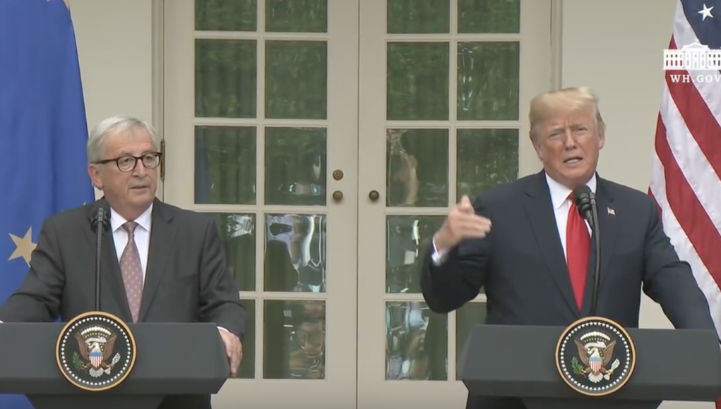 Meeting Trump-Juncker am 25.7.18