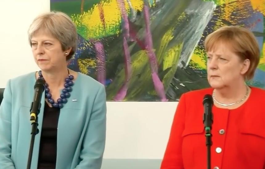 Pressekonferenz May - Merkel 5. Juli 2018