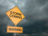 Storm coming - warning