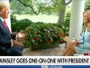 Ainsley Earhardt interviews President Donald Trump