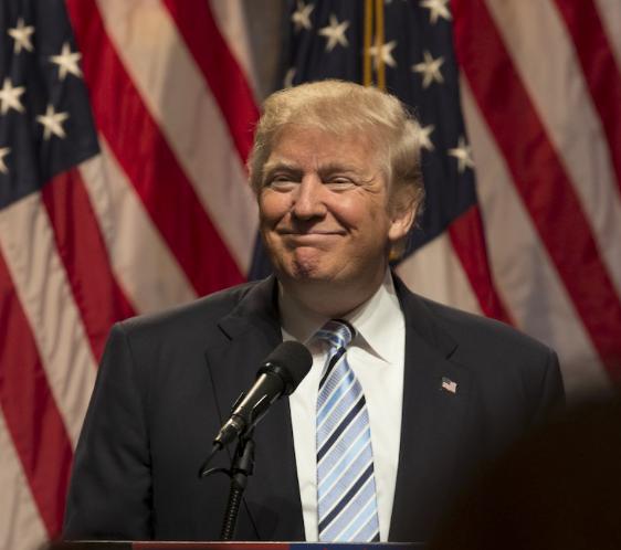 Donald Trump NY August 2018