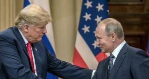 Trump und Putin in Helsinki 2018