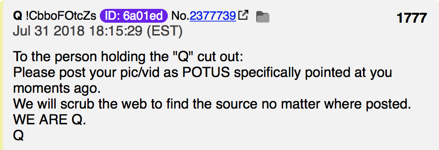WE ARE Q Foto qanon.pub