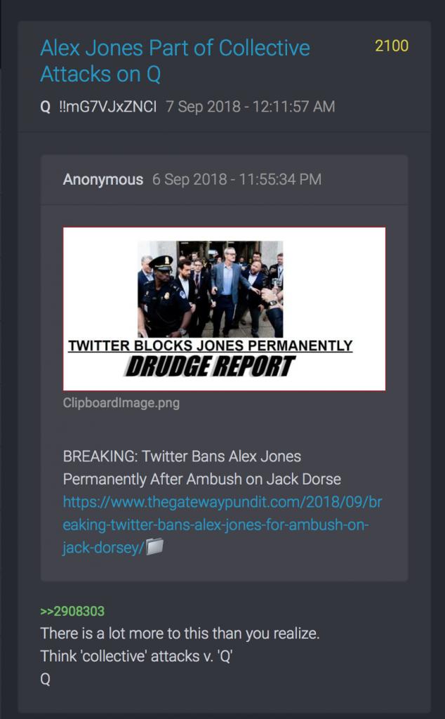 Alex Jones permanent von Twitter blockiert
