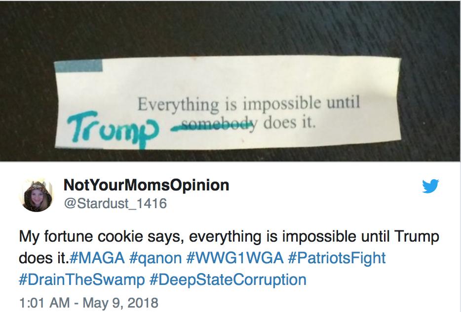 Alles ist unmöglich, bis Trump kommt