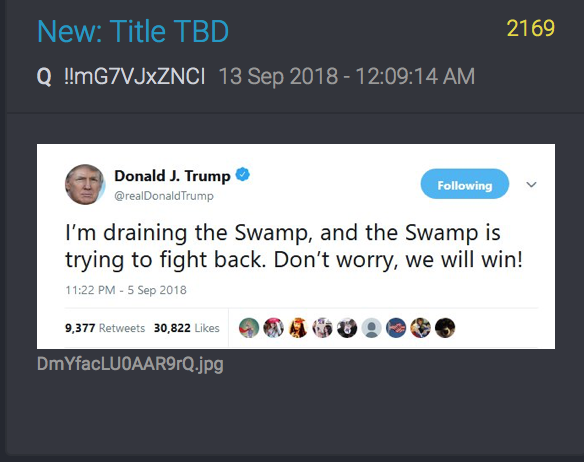 Donald Trump - Draining the Swamp