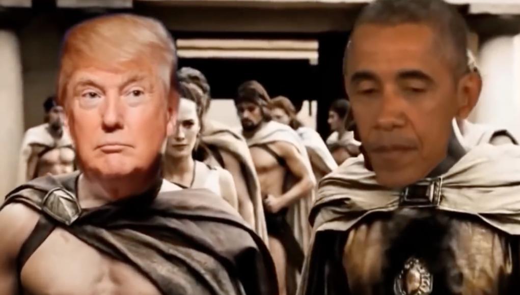 Donald gegen Hussein