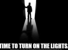 Es ist Zeit, das Licht anzumachen