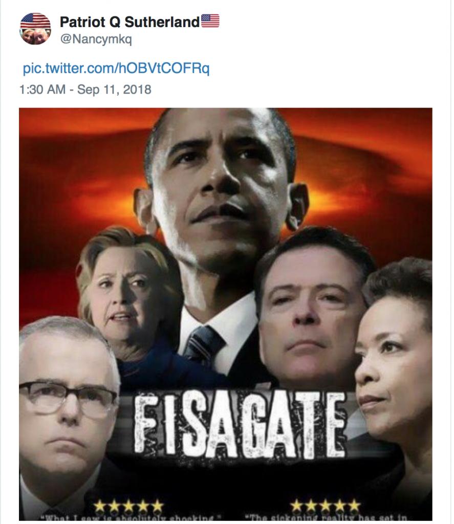 FISAgate Twitter MEME