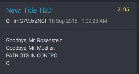 Good buye RR and Mueller