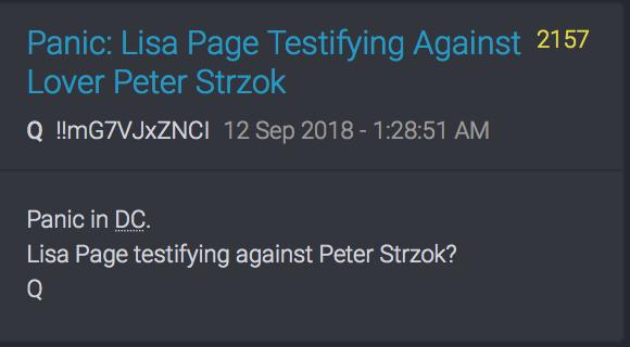 Lisa Page belastet eventuell Lover Peter Strzok
