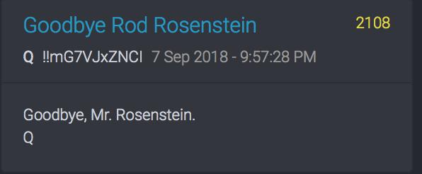 Machen Sie's gut, Mr. Rosenstein
