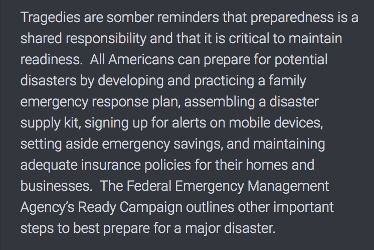 National Preparedness Months September Part 3