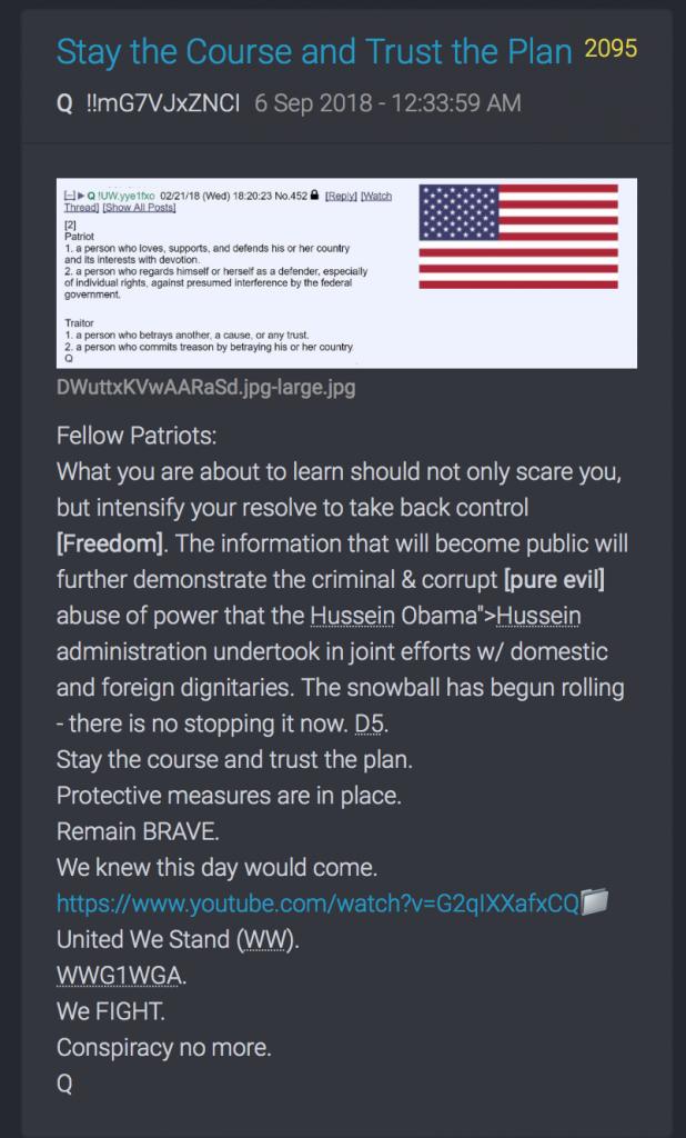 Vertraut dem Plan