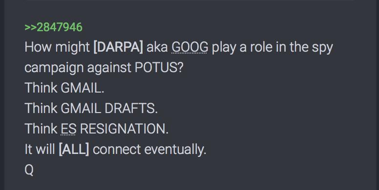 Welche Rolle spielt DARPA aka Google