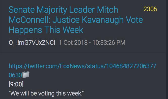 McConnell: Die Wahl wird diese Woche stattfinden