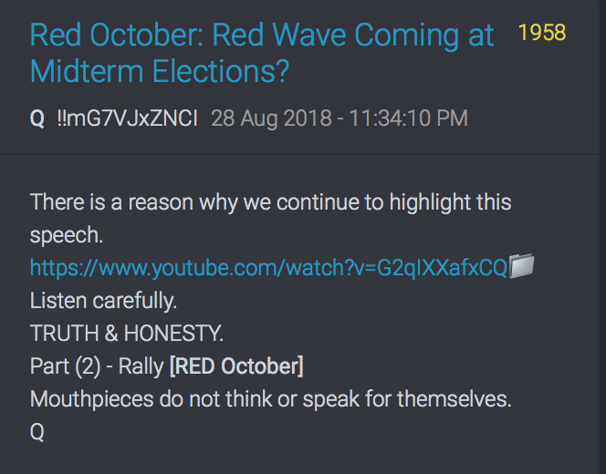 Rally Red October