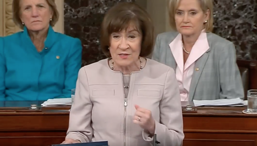 Senatorin Susan Collins, Maine