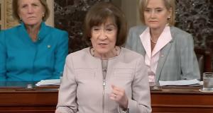 Senatorin Susan Collins, Maine