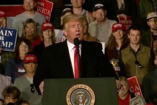 Trump Rally Montana