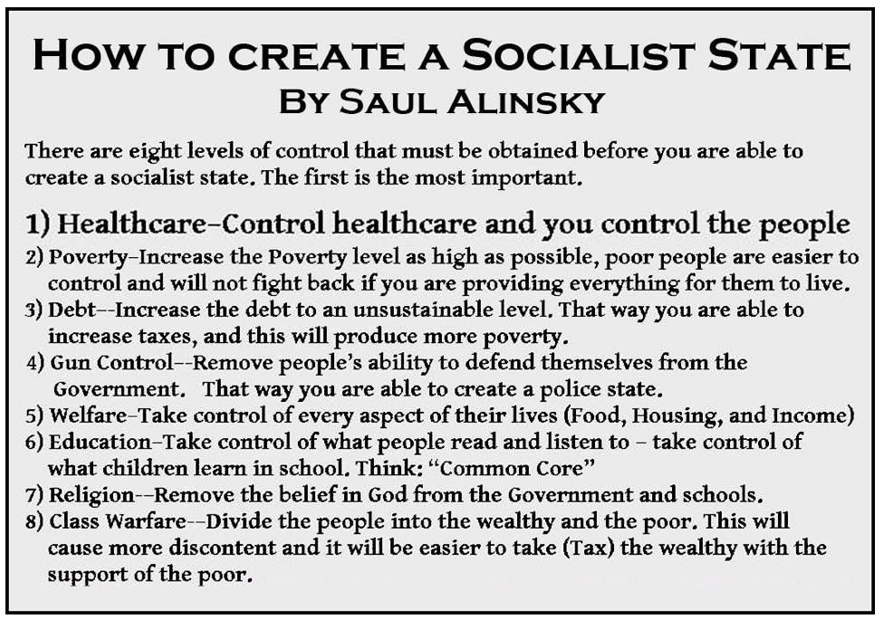 Wie man einen sozialistischen Staat erschafft