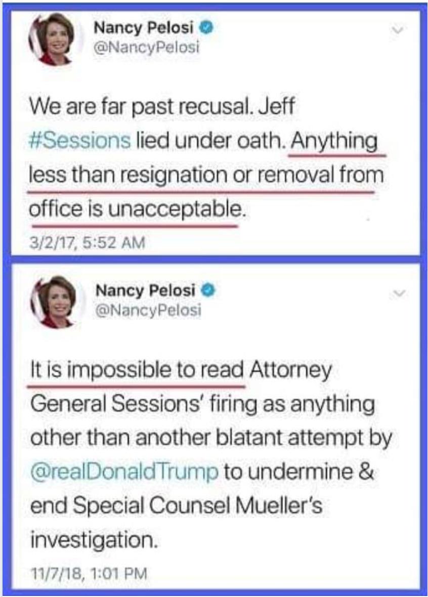 Bigotterie der Nancy Pelosi