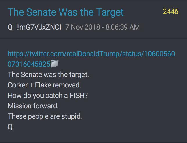 Der Senat war das Ziel