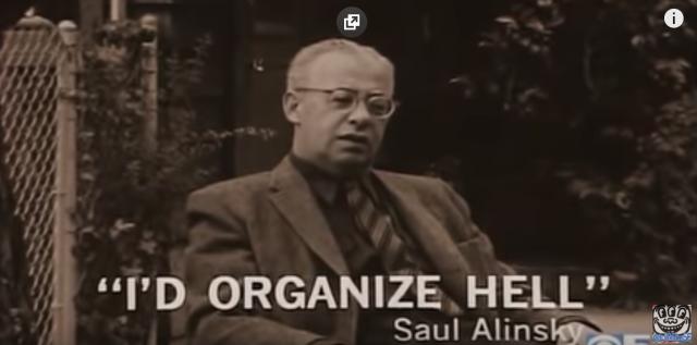 Ich würde die Hölle organisieren, Saul Alinsky