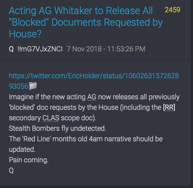 Neuer AG wird die blockierten FISA Dokumente freigeben