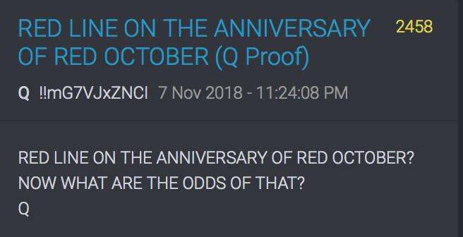 Roter Oktober = Analogie zur Russischen Revolution