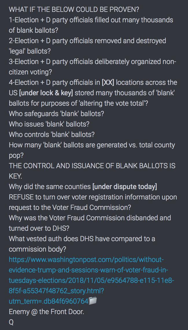 Wahlbetrug 2018