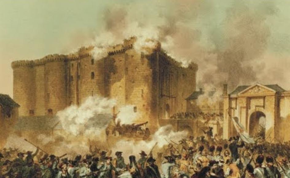 1789 - Sturm auf die Bastille