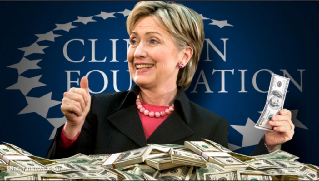 Clinton Foundation Meme
