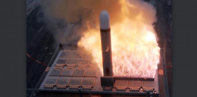 MK41 Raketenstart