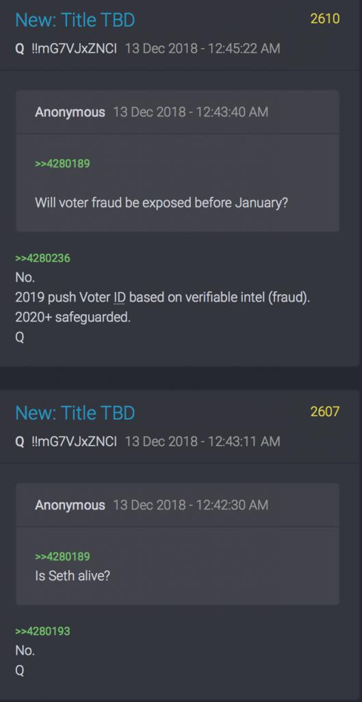 Wahlbetrug und Seth Rich