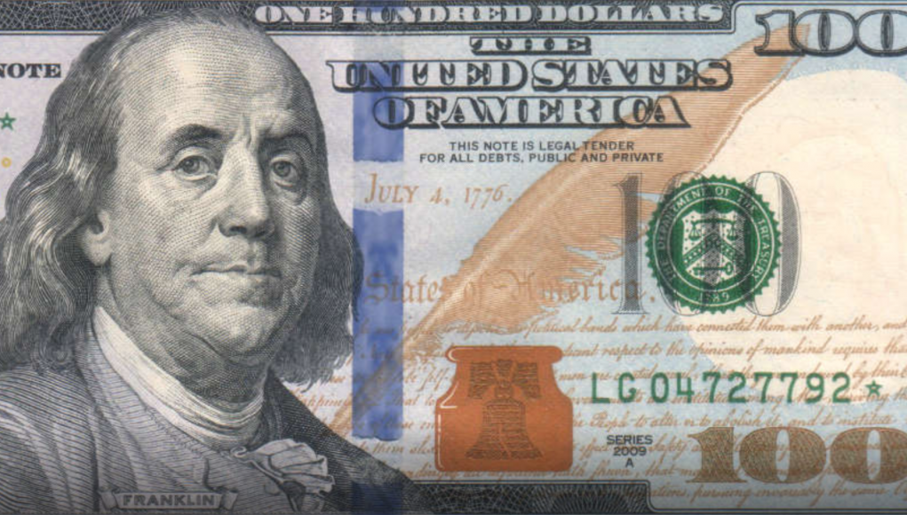 100 Dollar Note